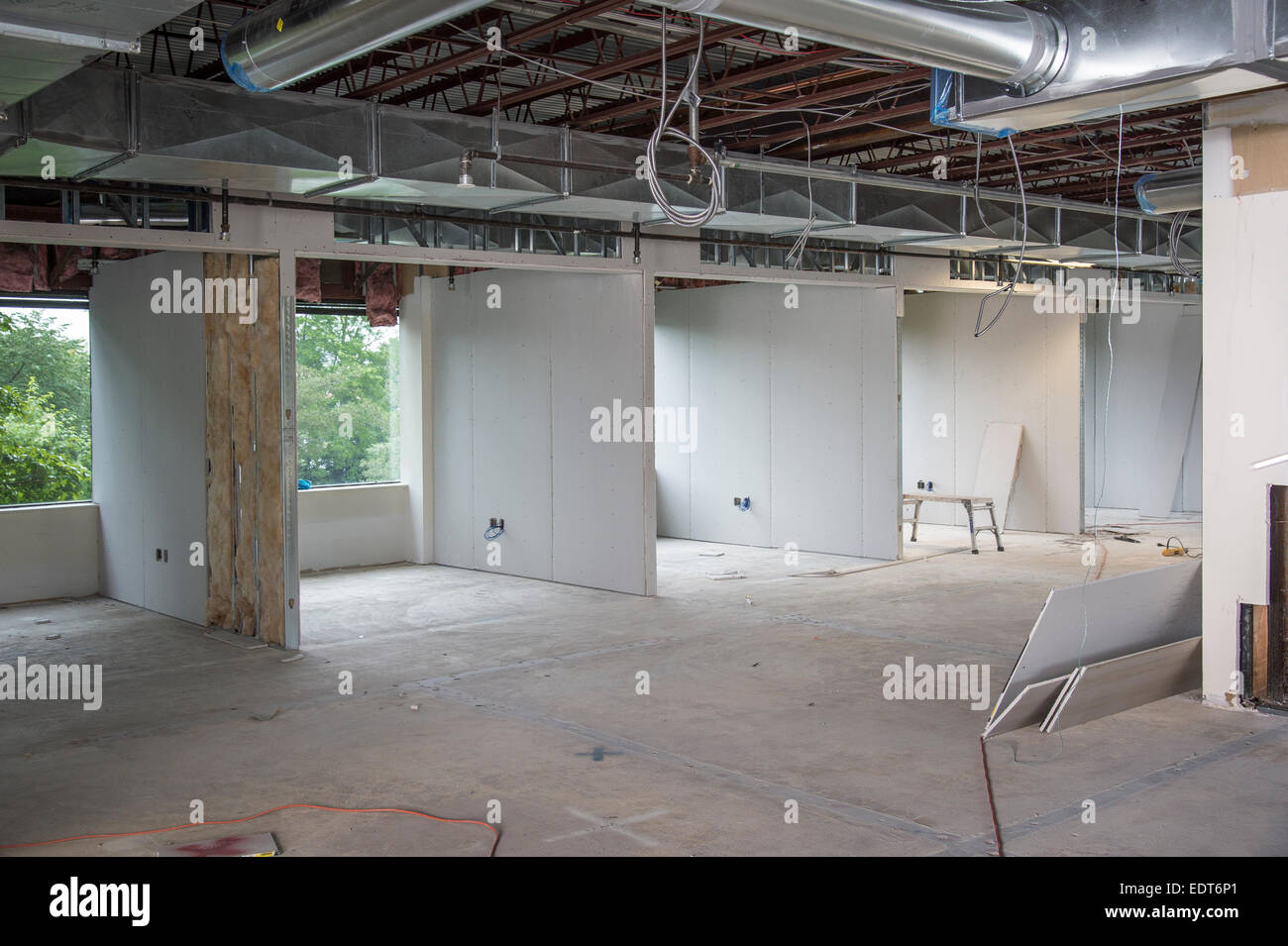 Commercial Construction Site Interior