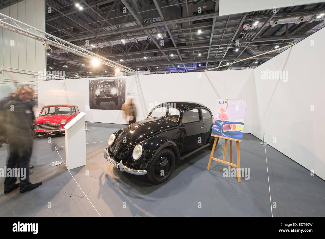 Excel, London's Docklands, UK. 9th January, 2015. James May's Hall of Obviousness at The London Classic Car Show - Stock Image