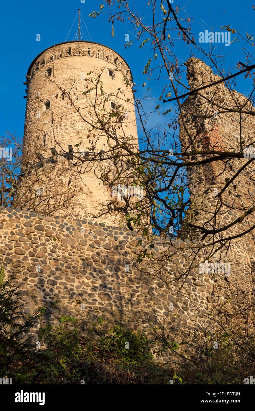 The Godesburg ruin, Bonn - Bad Godesberg, NRW, Germany. - Stock Image