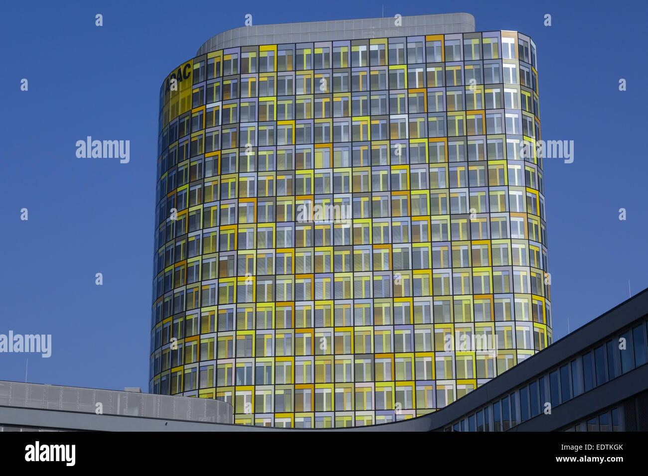 Neue ADAC-Zentrale, Hansastrasse 23-25, München, Bayern, Deutschland, Europa,New ADAC Headquarters, Hansastrasse - Stock Image