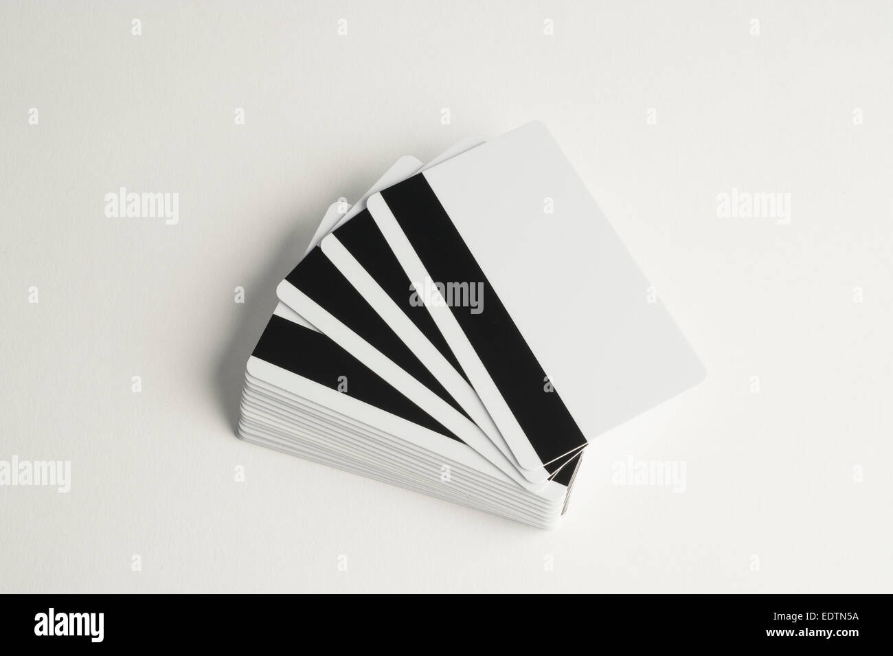 Magnetic Strip Stock Photos Images Alamy Stripe Wiring Diagram Stack Of Blank Credit Cards Showing Image