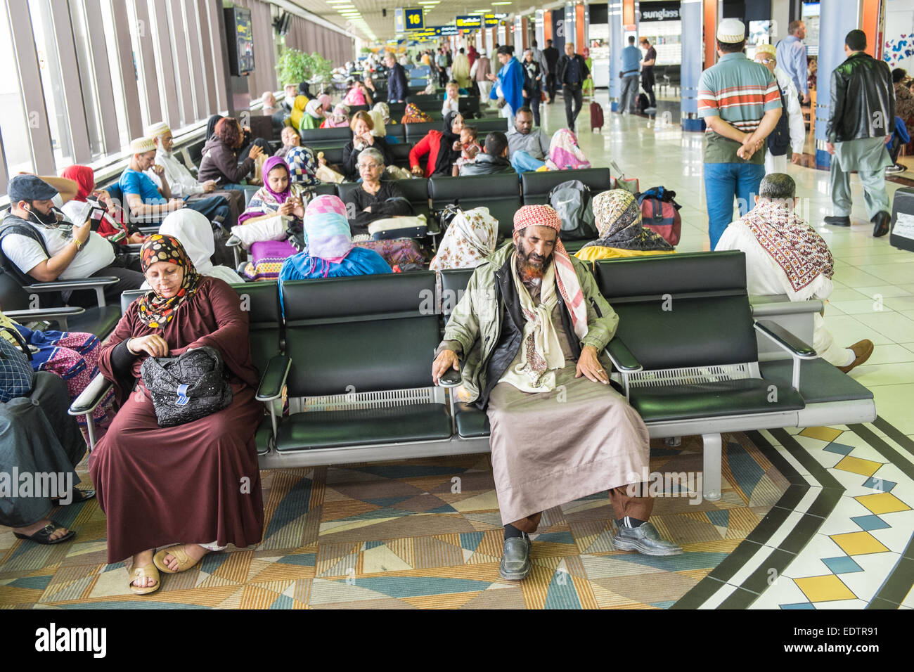 Bahrain International Airport, Bahrain, Middle East - Stock Image