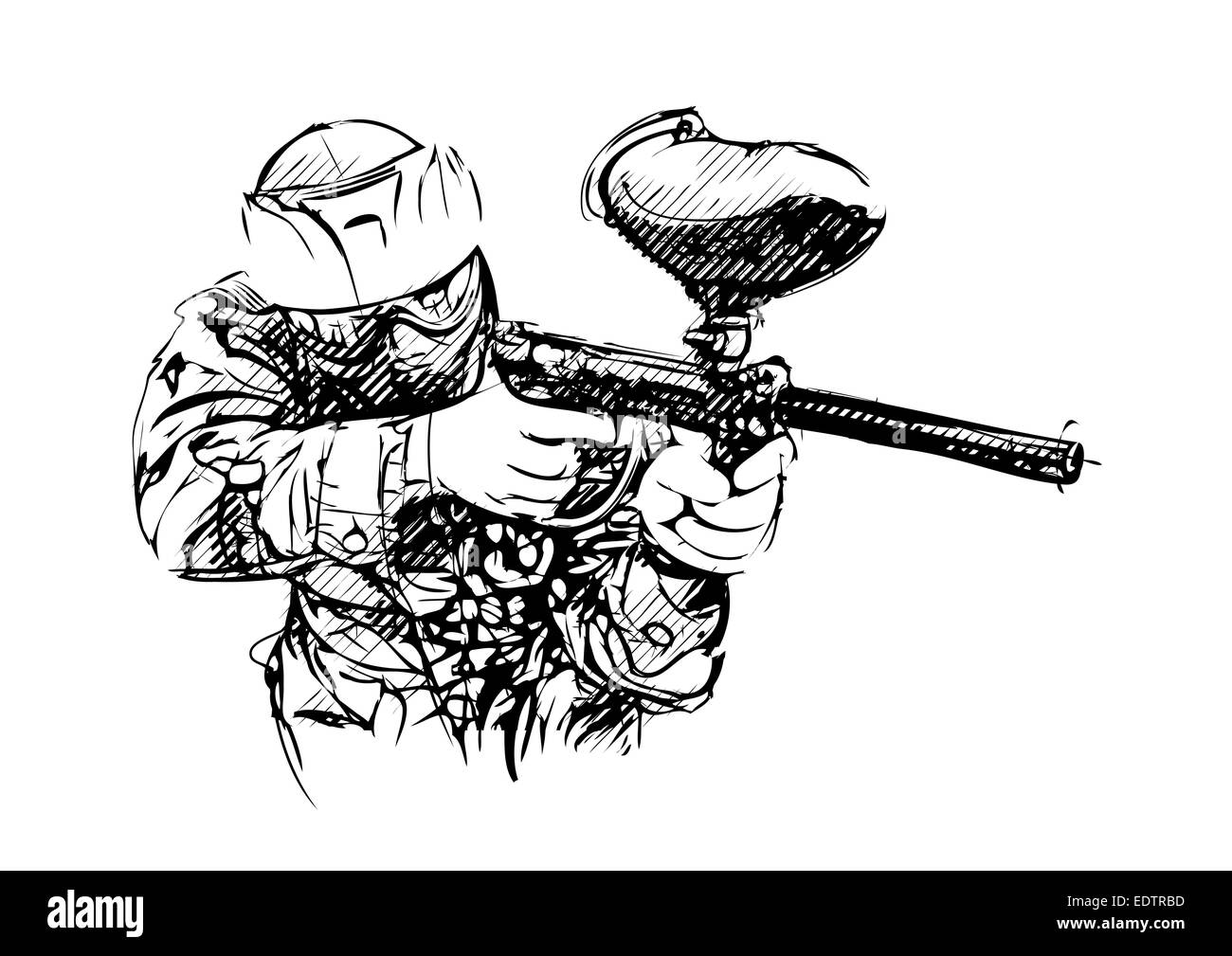 Paintball Game Black And White Stock Photos Images Alamy