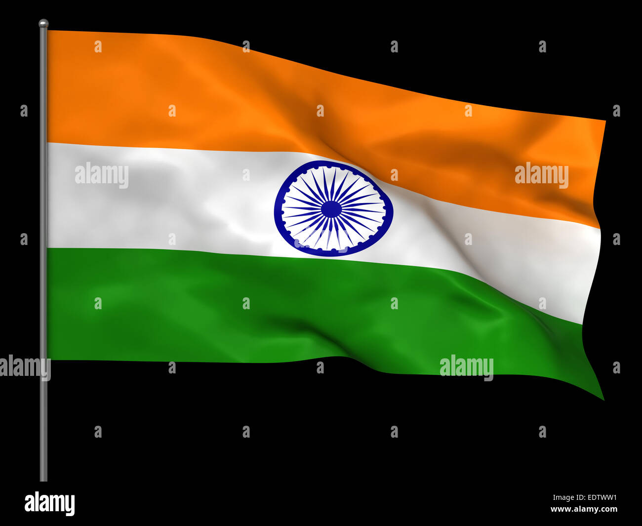 Indian Flag High Resolution Stock Photography And Images Alamy