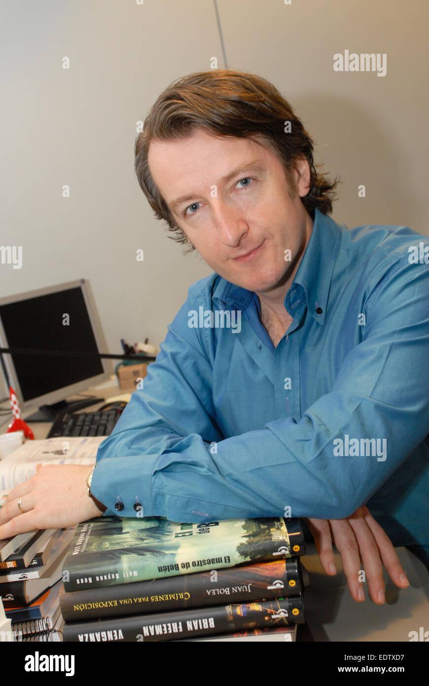 Matt Rees, Matt Beynon Rees  journalist and writer, Award-winning Middle East correspondent - Stock Image