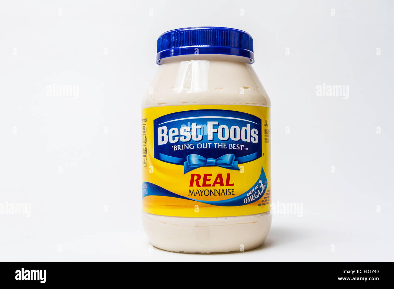 Best Foods Mayonnaise jar - Stock Image