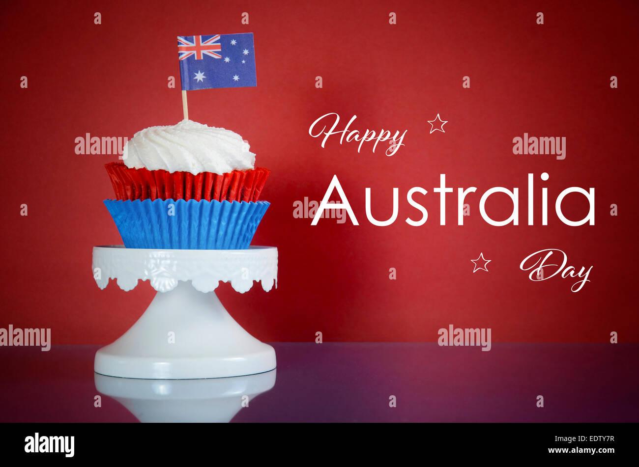 Australia, Australian, Aussie, Down-under, Down Under, downunder, flag, national, nation, Australia day, Anzac day, - Stock Image