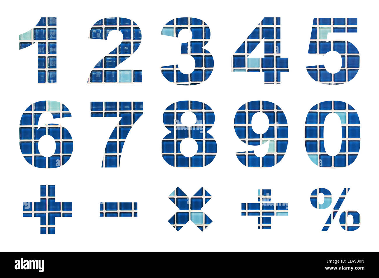 Mathematical Symbols Cut Out Stock Images & Pictures - Alamy
