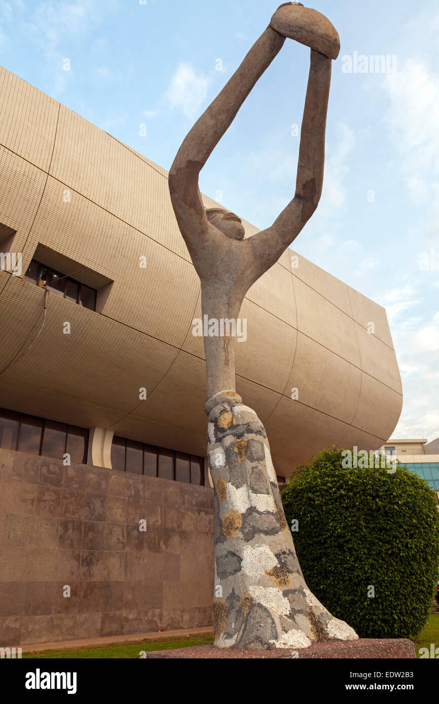 National Gallery, Accra, Ghana, Africa - Stock Image