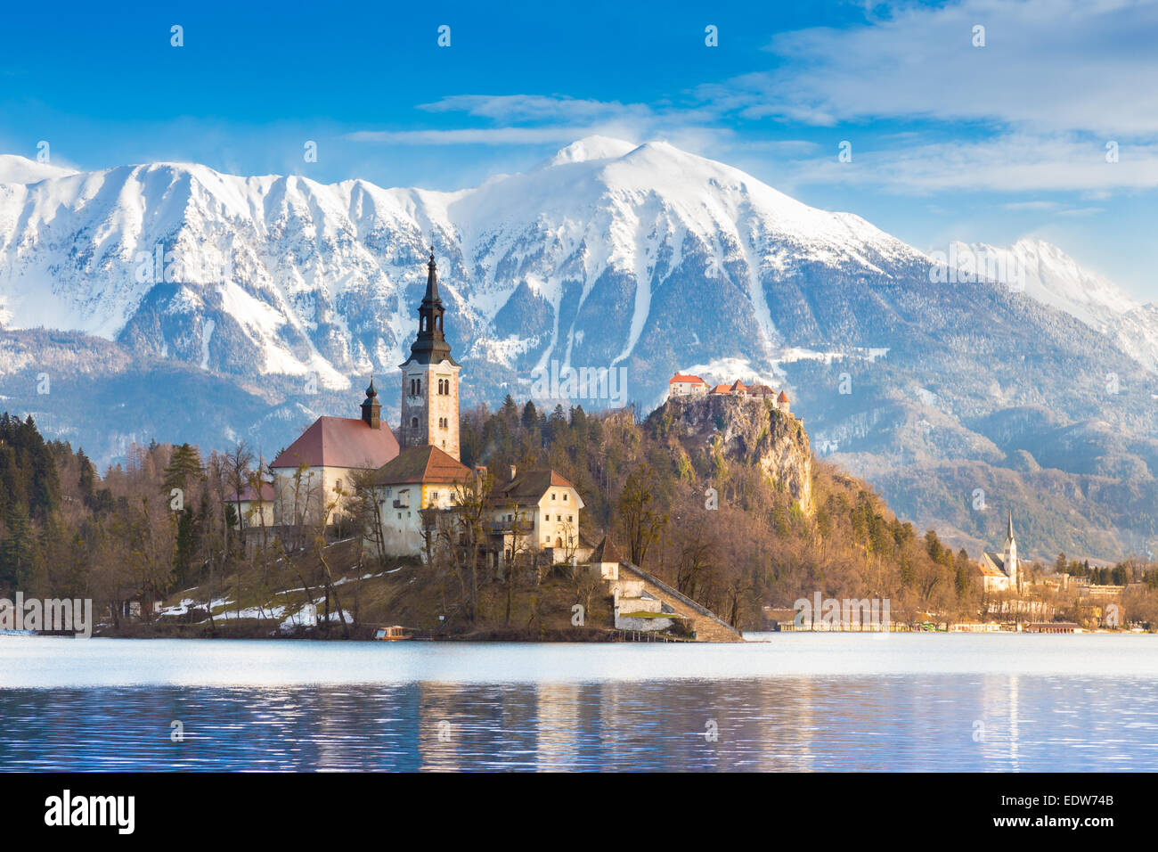 Bled, Slovenia, Europe. - Stock Image