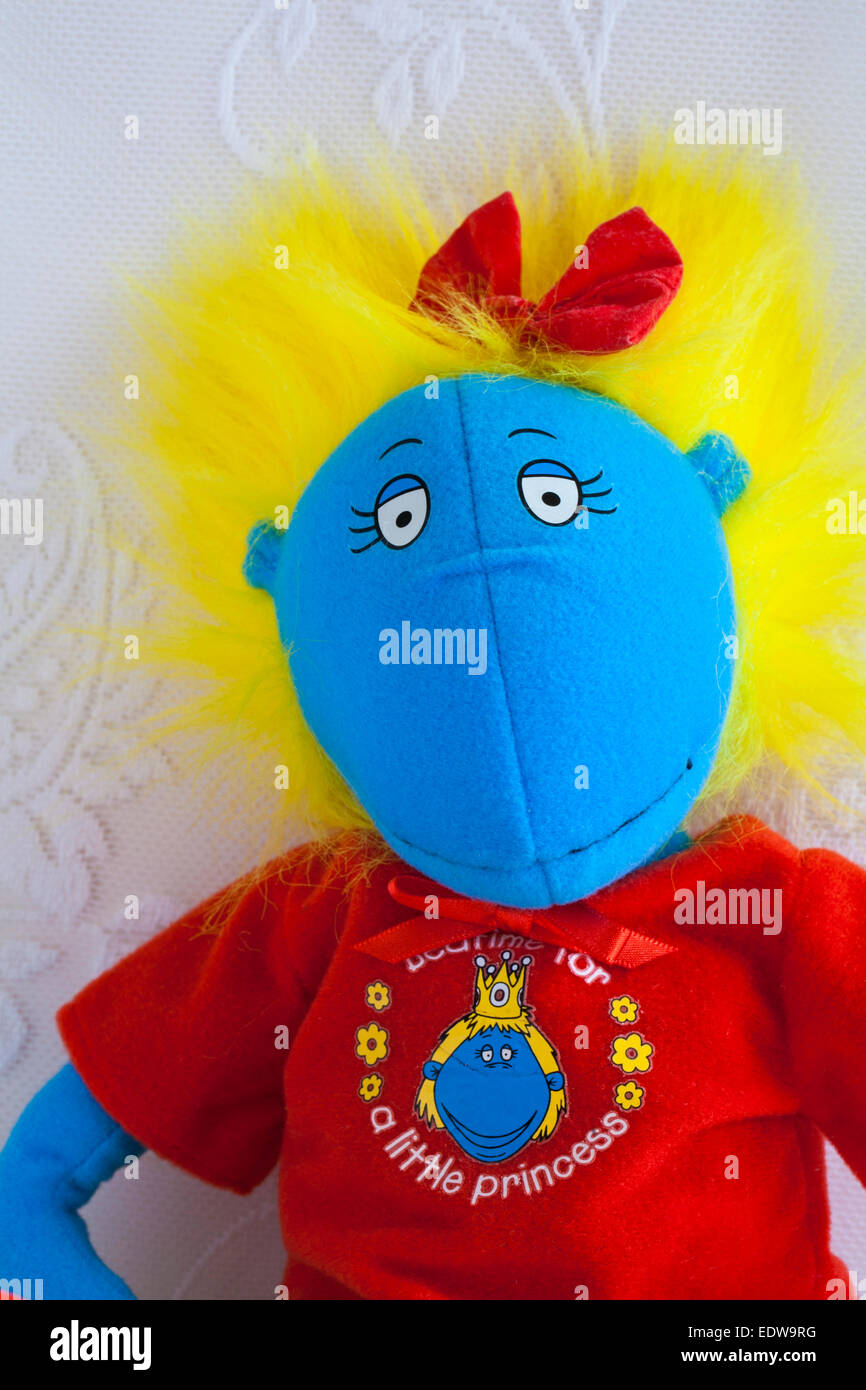 Tweenies Bella character soft cuddly toy - Stock Image