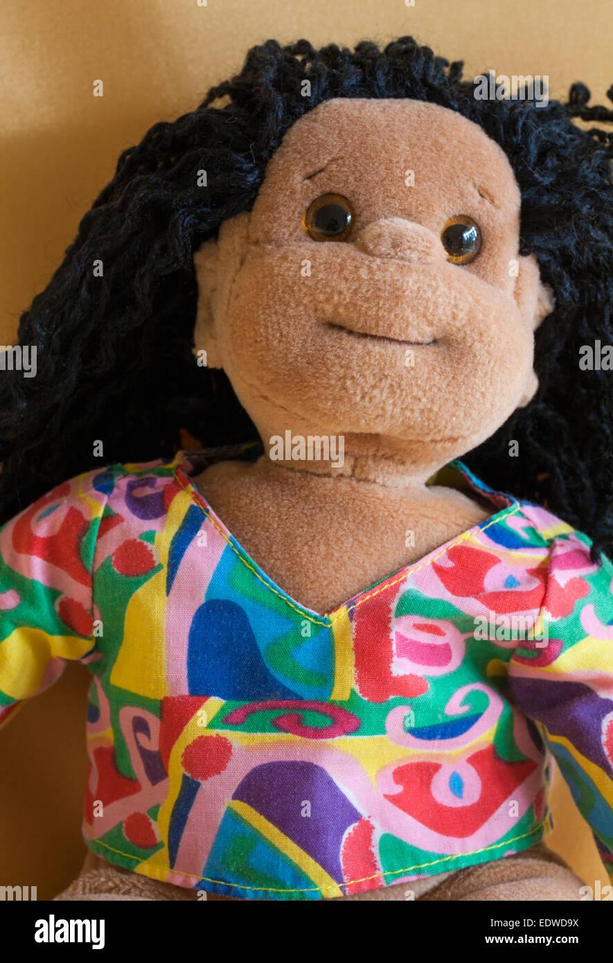 Ty Beanie Kids Calypso doll soft cuddly toy - Stock Image