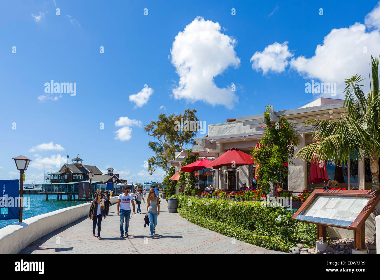 Waterfront Restaurants On The Embarcadero At Seaport Village