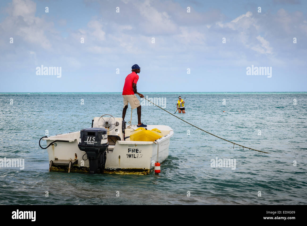 67f67333b46b3 Sandals Grande Antigua Resort Dive Boat Service Skiff