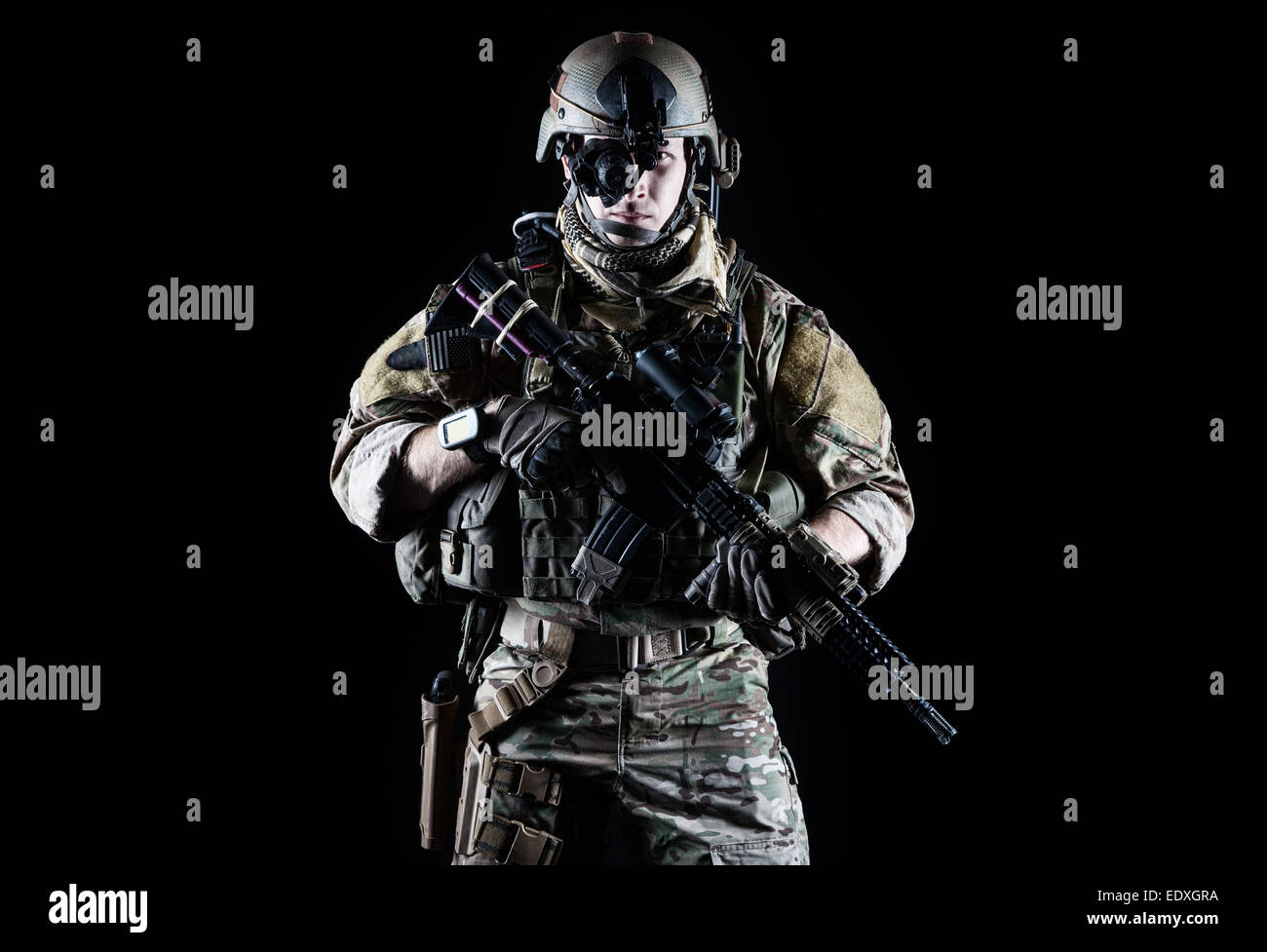 United States Army ranger - Stock Image