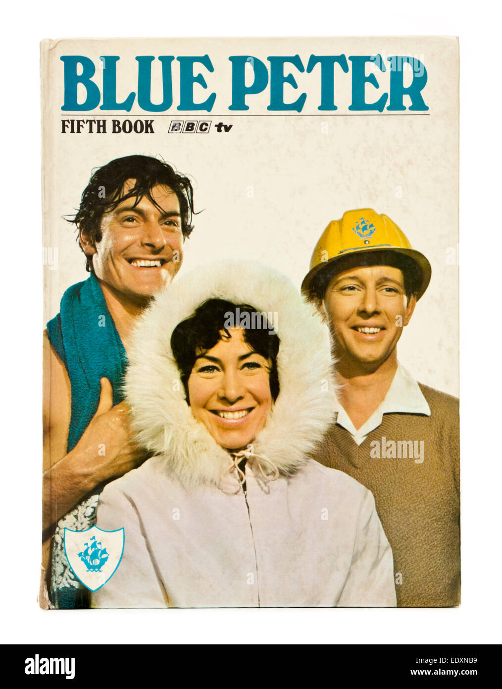 The fifth BBC 'Blue Peter' book from 1969. Blue Peter is a popular British BBC children's television - Stock Image