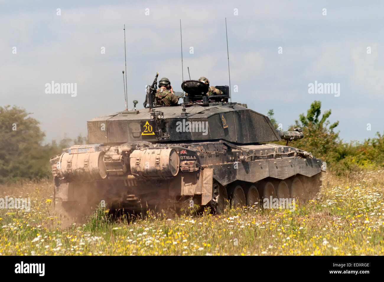 f807a05e14ef Challenger 2 Main Battle Tank (MBT) of the British Army on exercise on the