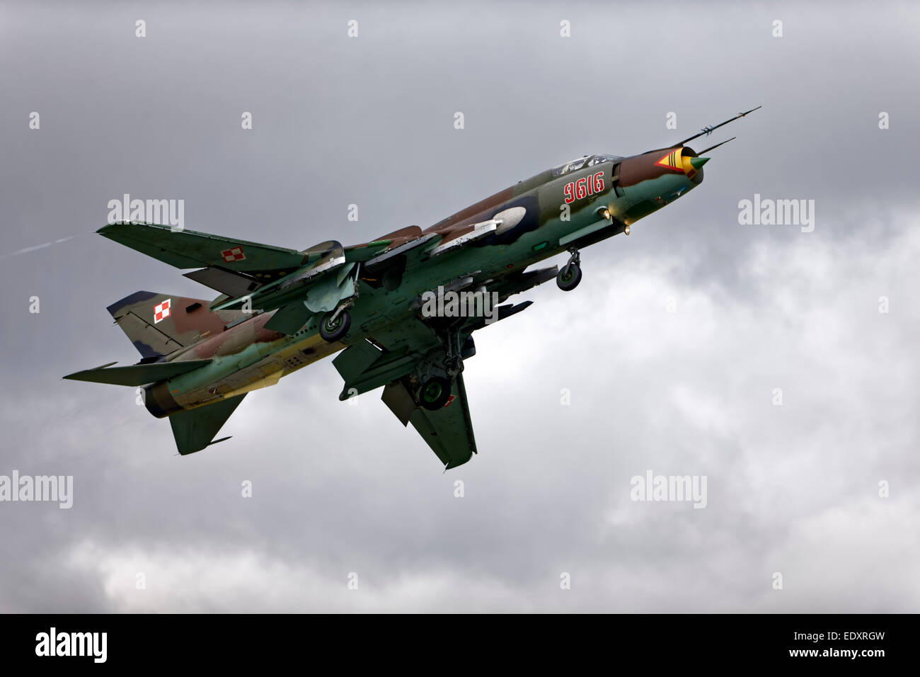 Polish Air Force Sukhoi Su-22M-4K 'Fitter' - Stock Image