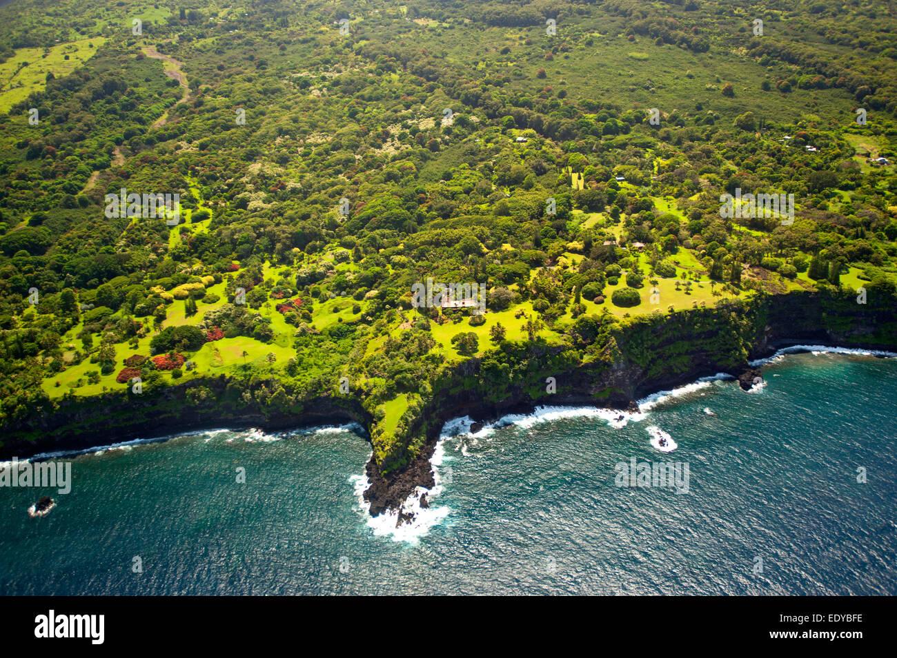 Coastline of Maui - Stock Image