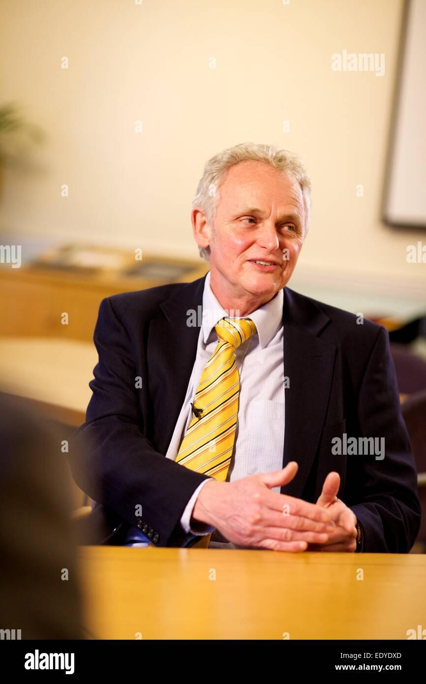 portrait of Dr Steve Peters - Stock Image