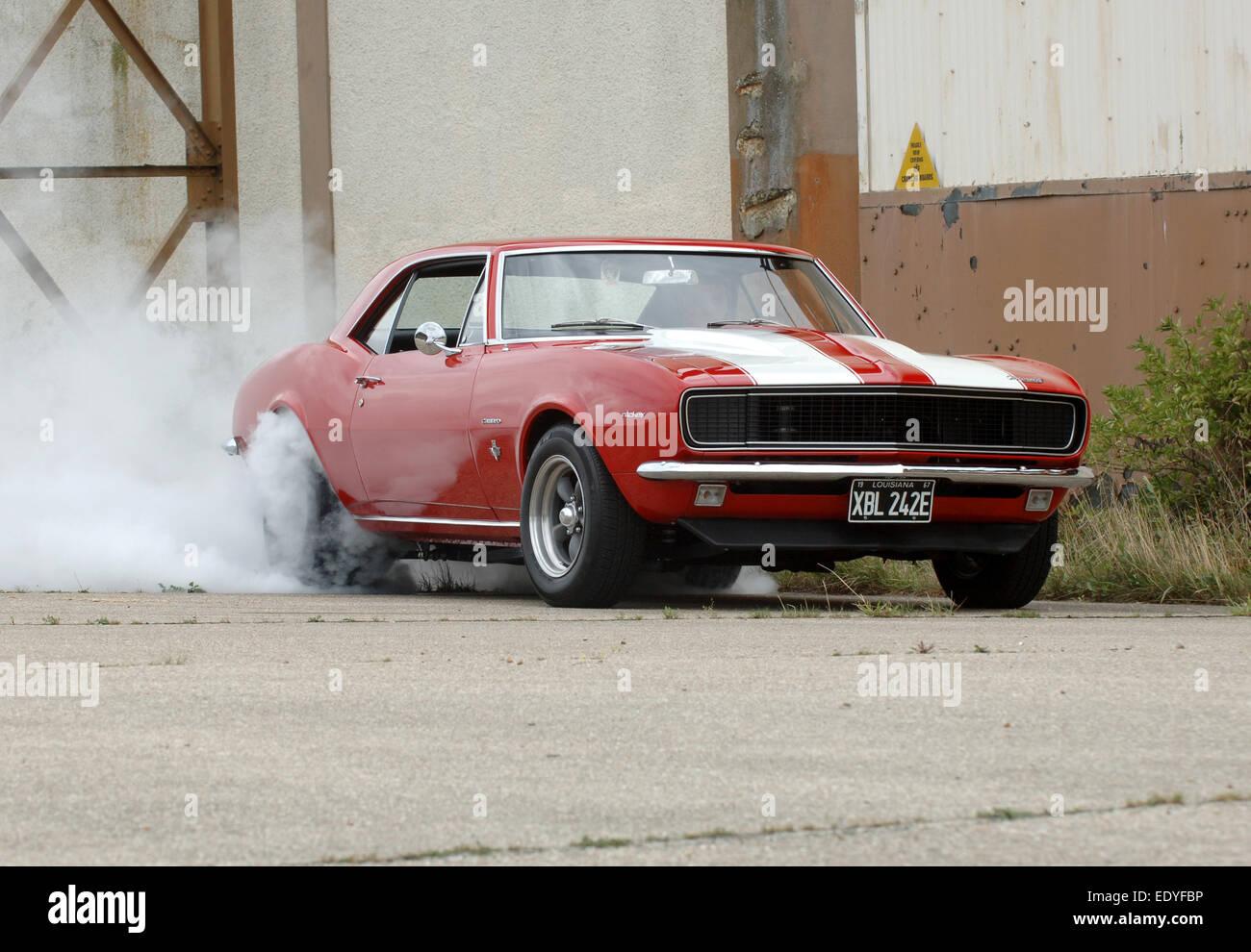 Muscle Car Burnout Stock Photos Muscle Car Burnout Stock Images