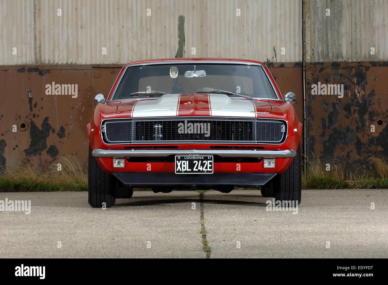1967 Chevrolet Camaro American Muscle Car Stock Photo 77436852 Alamy