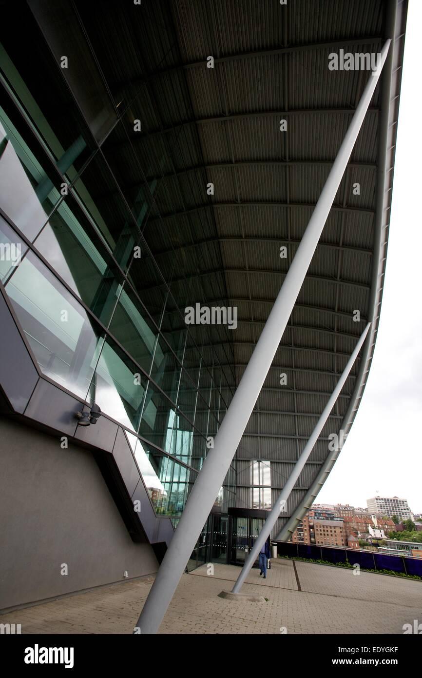 The Sage concert venue in Gateshead - Stock Image