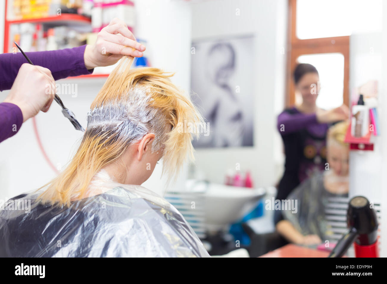 Hair Dye Stock Photos Hair Dye Stock Images Alamy