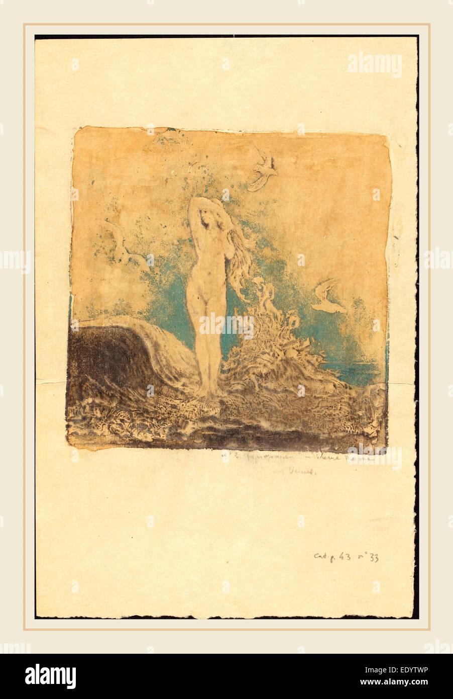 Pierre Roche, Aphrodite, French, 1855-1922, 1914, gypsograph - Stock Image