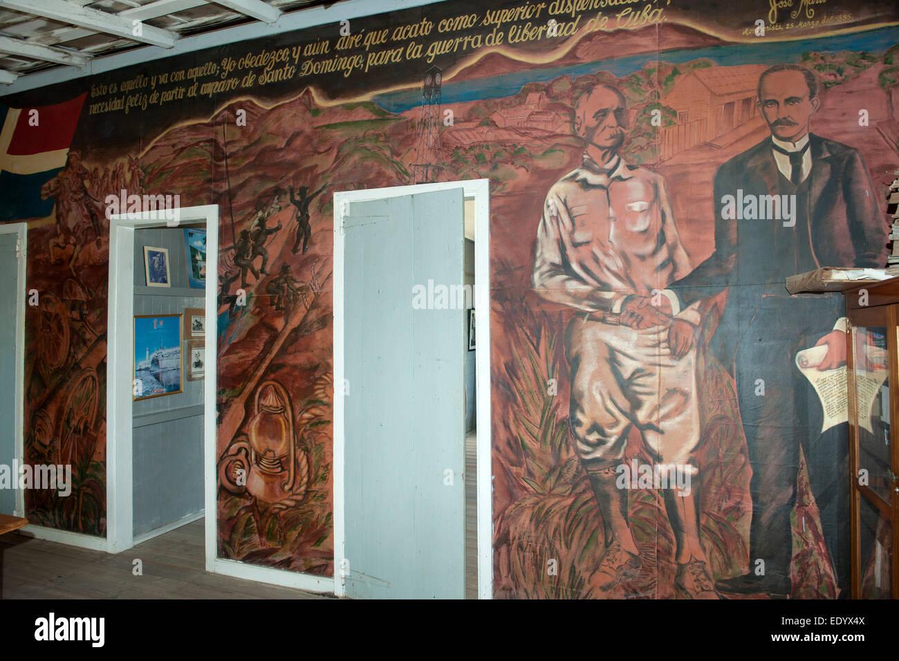 Dominikanische Republik, Nordküste, Monte Christi, Museo Maximo Gomez - Stock Image