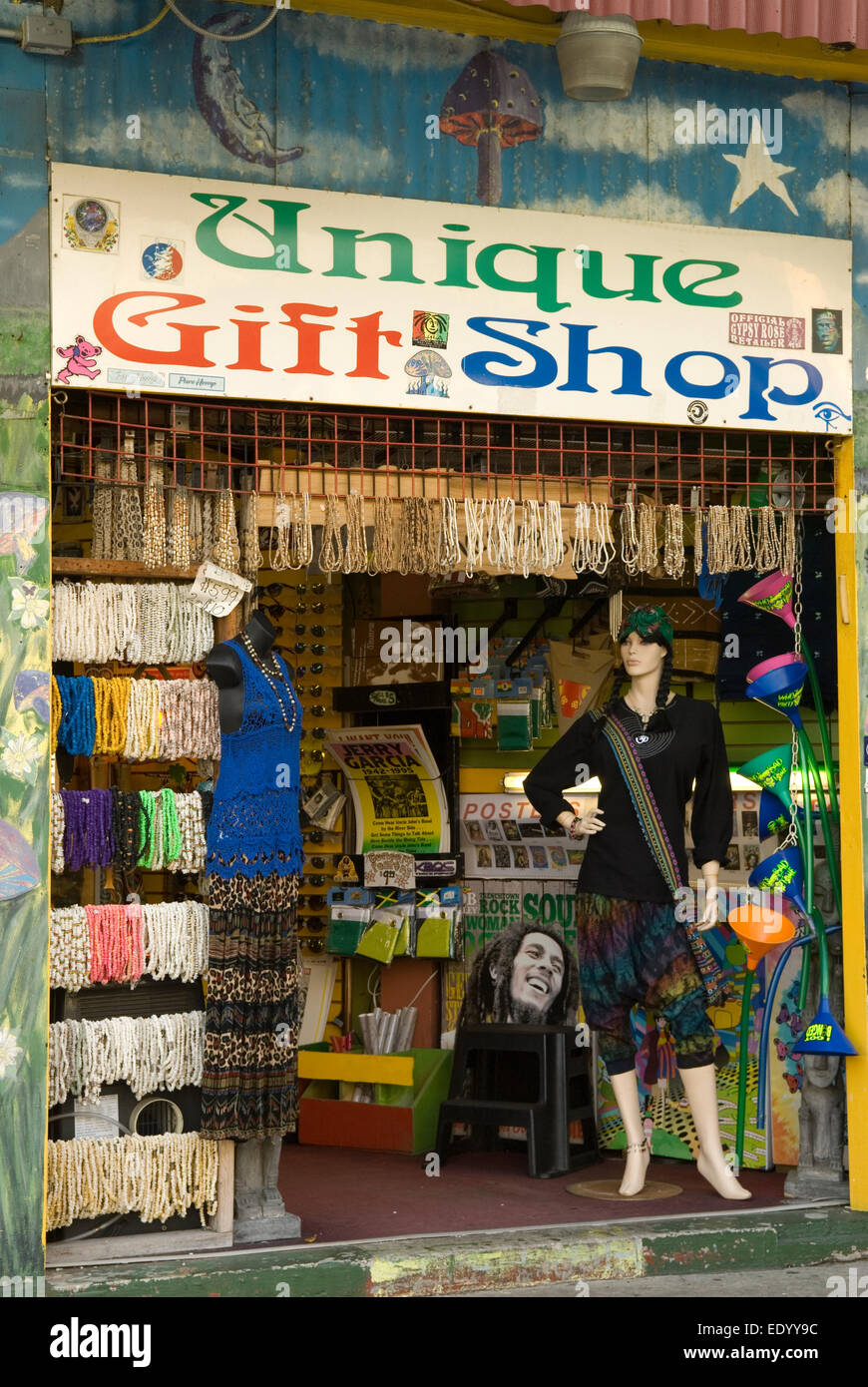 Unique Gift Shop Myrtle Beach South Carolina Usa Stock