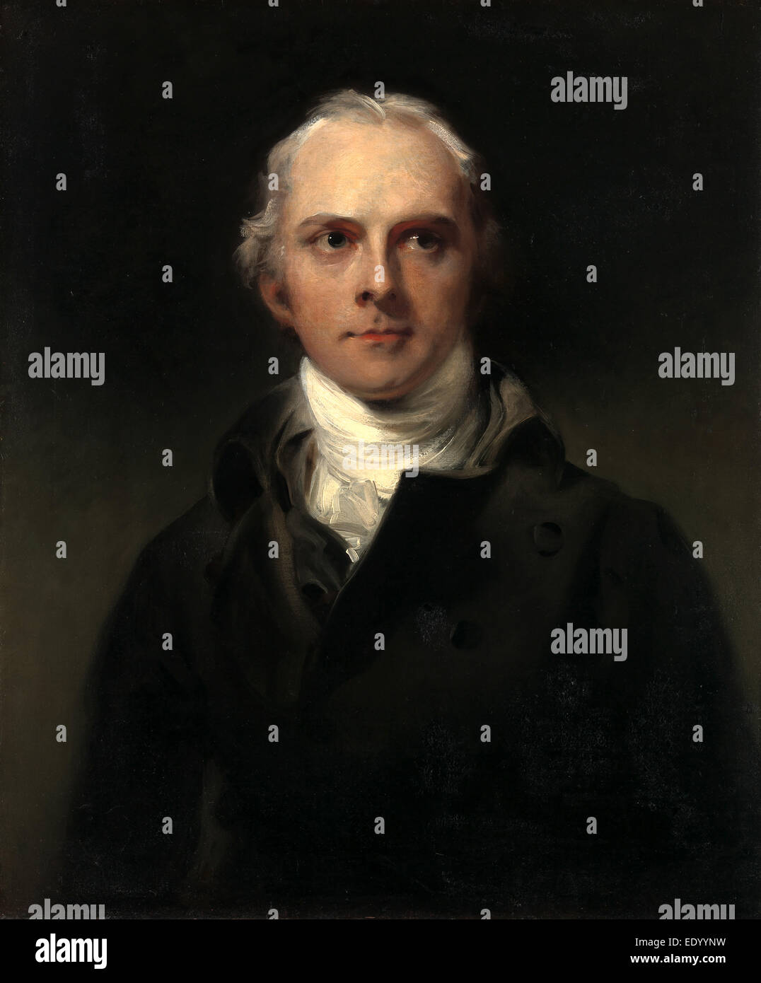 Samuel Lysons, Sir Thomas Lawrence, 1769-1830, British - Stock Image