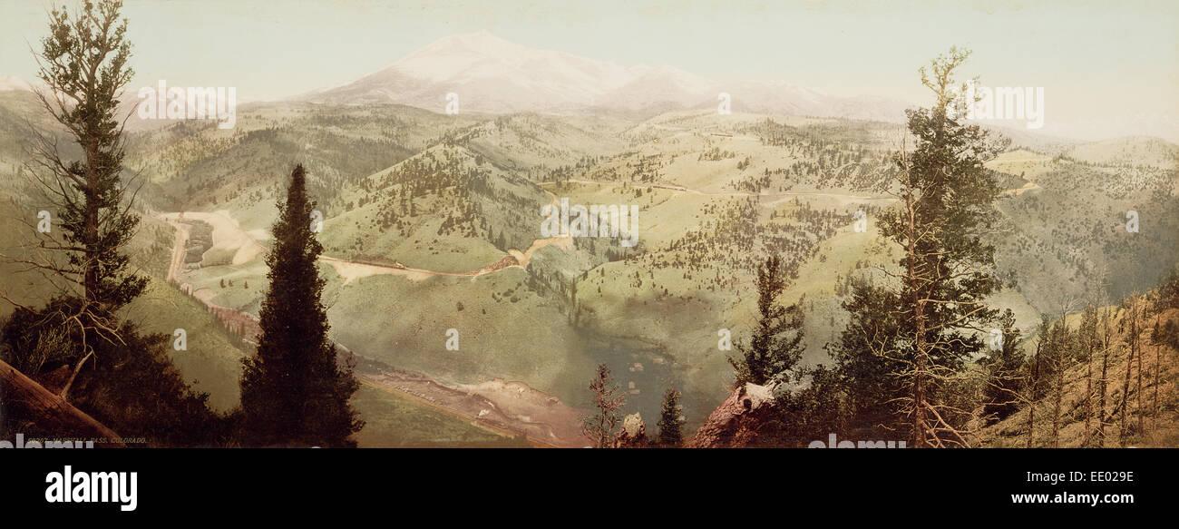 Marshall Pass, Colorado; William Henry Jackson, American, 1843 - 1942; Colorado, United States, North America; 1899 - Stock Image