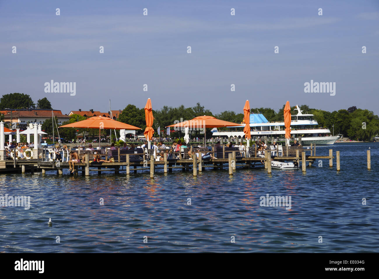 starnberg am starnberger see bayern oberbayern deutschland stock photo 77449136 alamy. Black Bedroom Furniture Sets. Home Design Ideas
