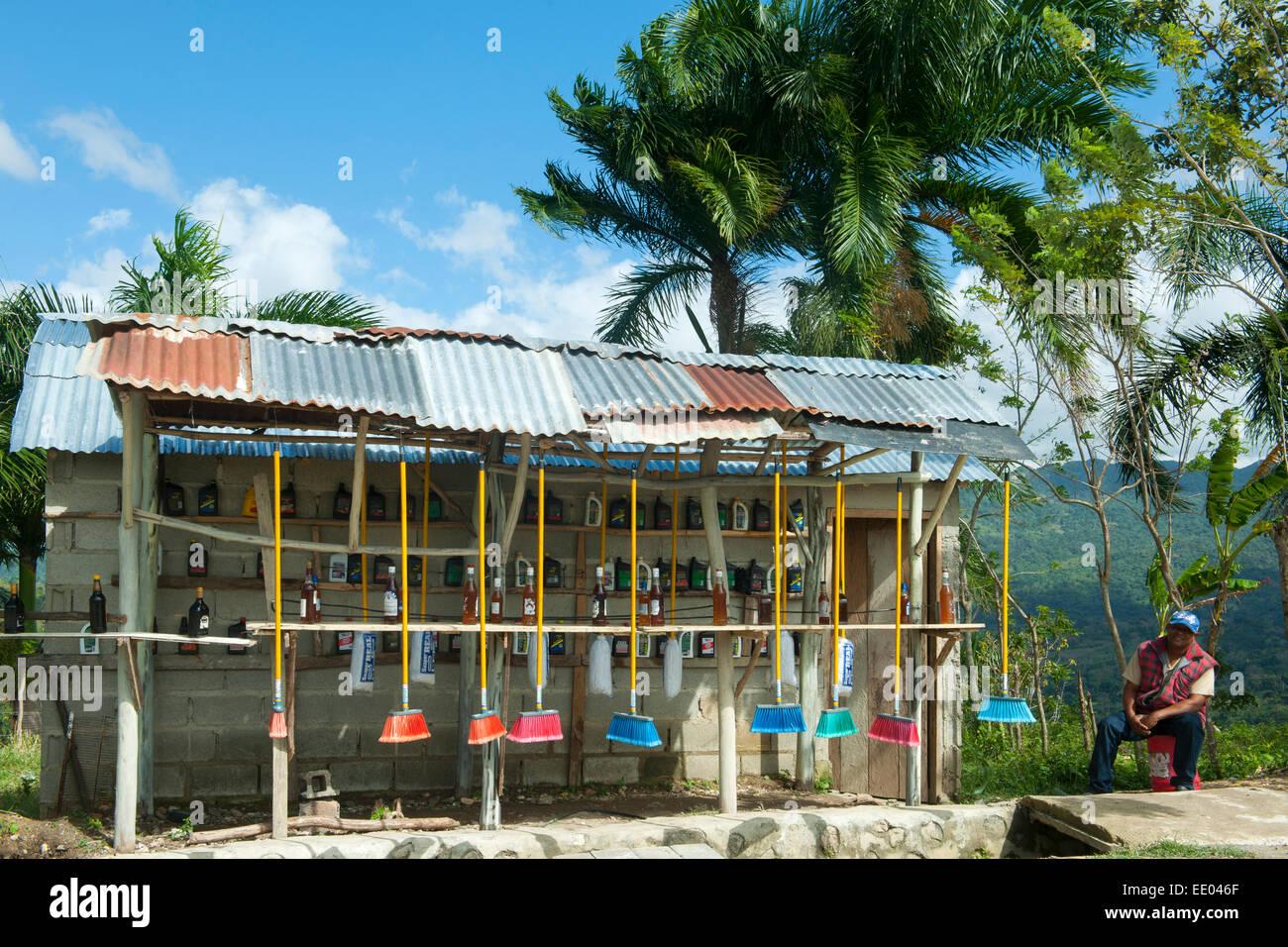 Dominikanische Republik, Nordküste, Sosua, Ruta Turistica (auch Ruta Panormica) von der Nordküste nach - Stock Image