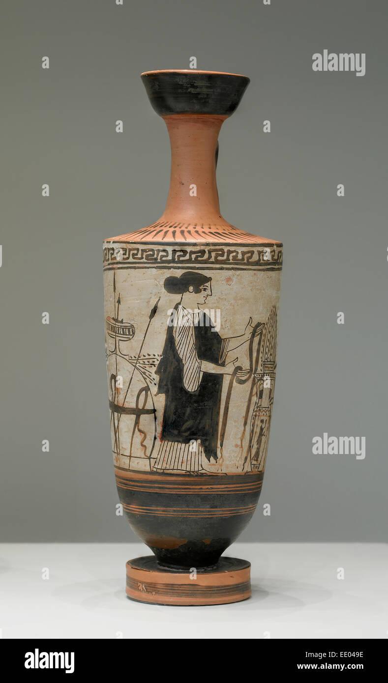 Attic White-Ground Lekythos; Unknown; Athens Greece Europe; about 460 & Attic Greece Stock Photos u0026 Attic Greece Stock Images - Alamy