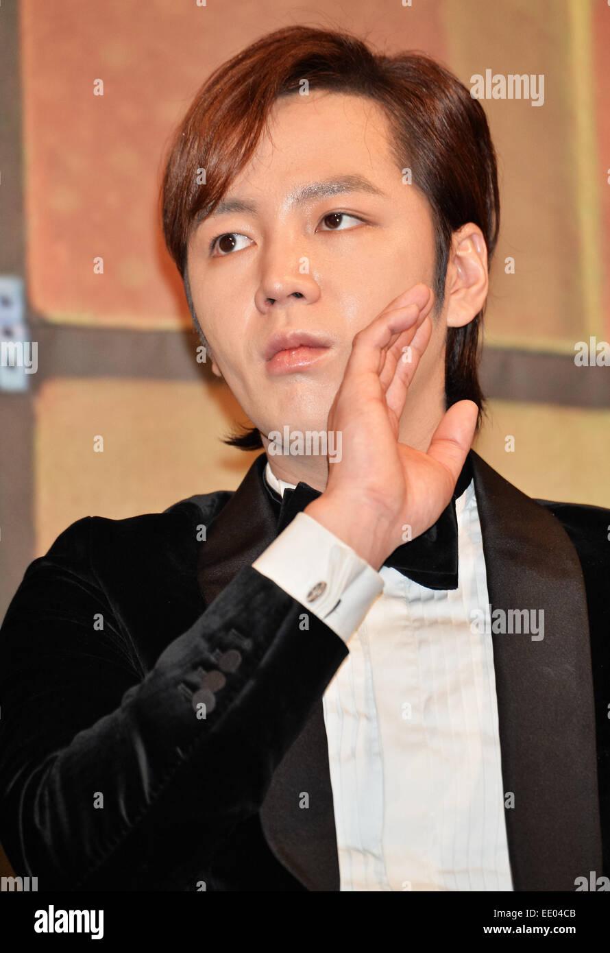Jang Keun Suk Jan 09 2015 Seoul South Korea Korean