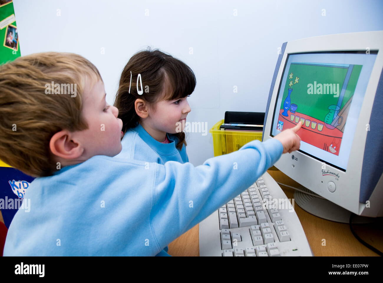 Learning Games 4 Toddlers Kids Stock Photos & Learning Games