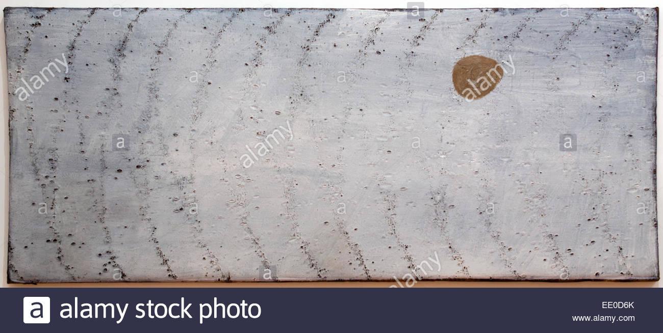 Composizione ( Superficie lunare ) 1965 Composition (lunar surface) 1965 Giulio Turcato 1912-1995 Italy Italian - Stock Image