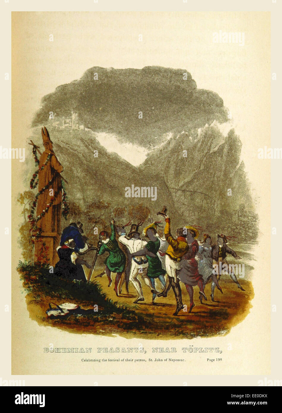 Toplitz, Sketches of Germany and the Germans, in 1834, 1835, and 1836. By an Englishman resident in Germany - Stock Image