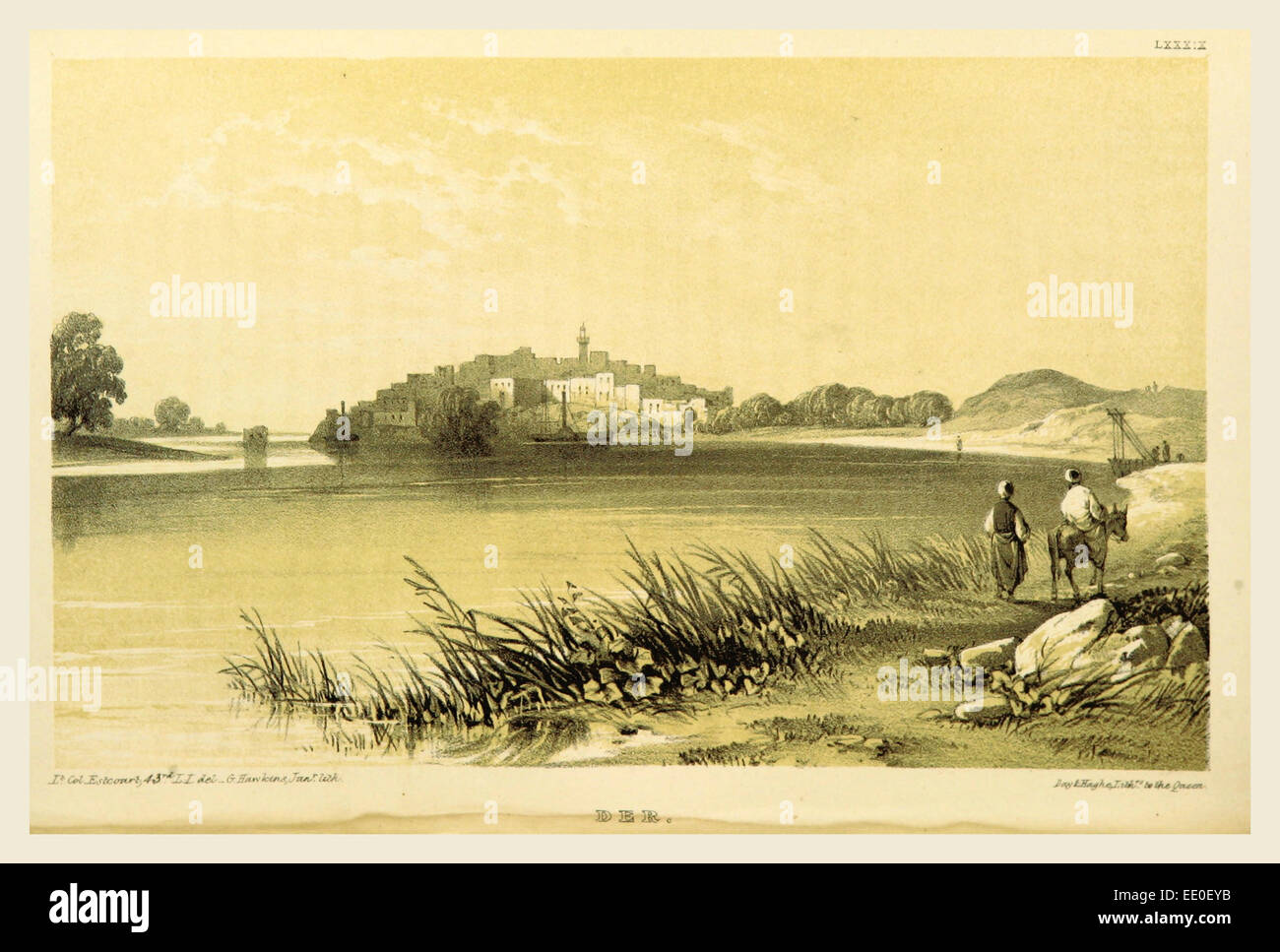 Narrative of the Euphrates Expedition carried on by Order of the British Government during the years 1835, 1836, - Stock Image
