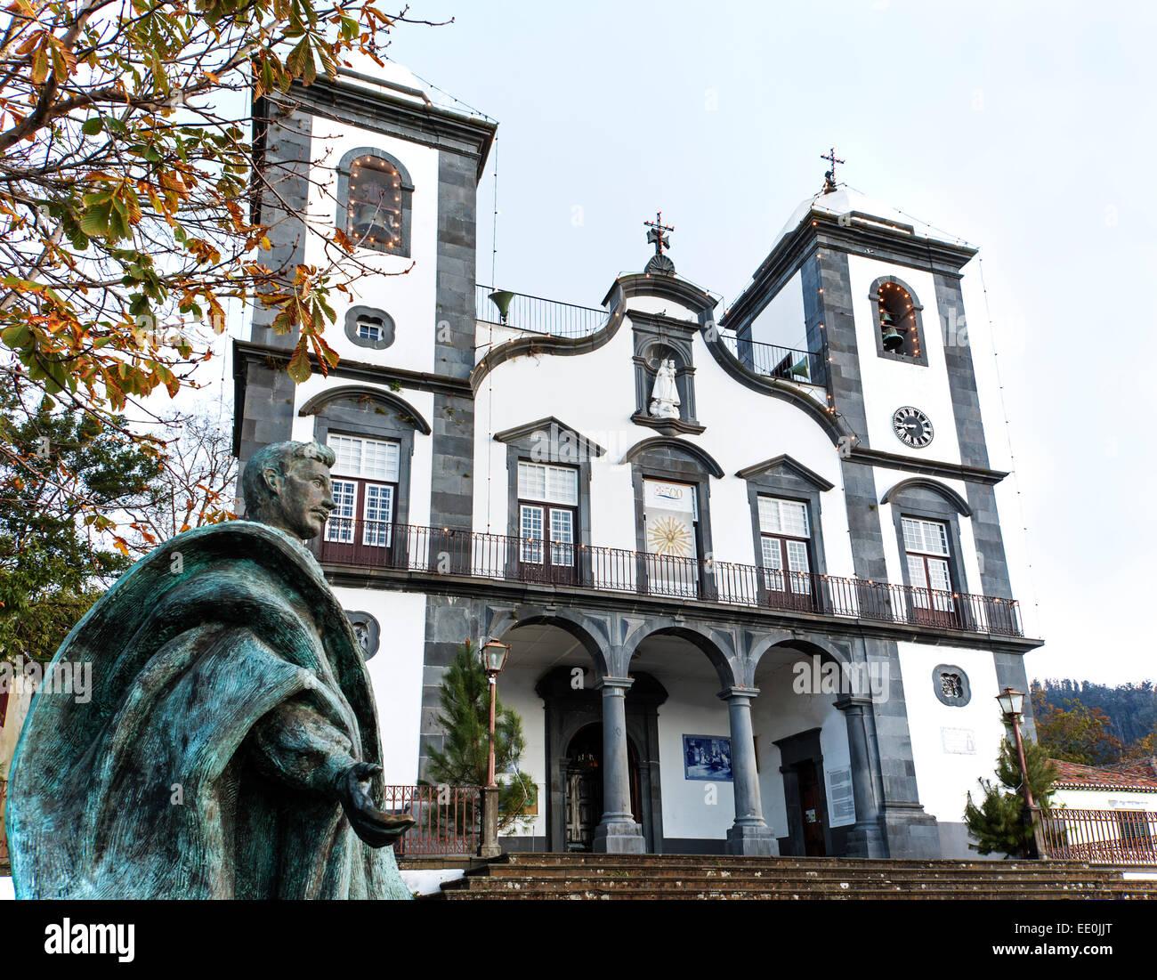 Nossa Senhora do Monte church, Funchal - Stock Image