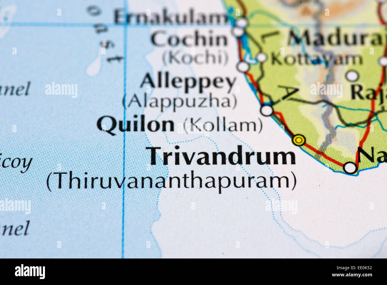 Kerala Map Stock Photos & Kerala Map Stock Images - Alamy on india cochin india, map of addis ababa ethiopia, map of cape town south africa, map of cairns australia, map of barcelona spain, map of cochin kerala, kerala india, map of albany australia, map of belfast northern ireland, best of india, map of rarotonga cook islands, map of buenos aires argentina, map of christchurch new zealand, map of durban south africa, map of cebu philippines, map of auckland new zealand, kochi india, map of beijing china, places to visit in india, map of brisbane australia,