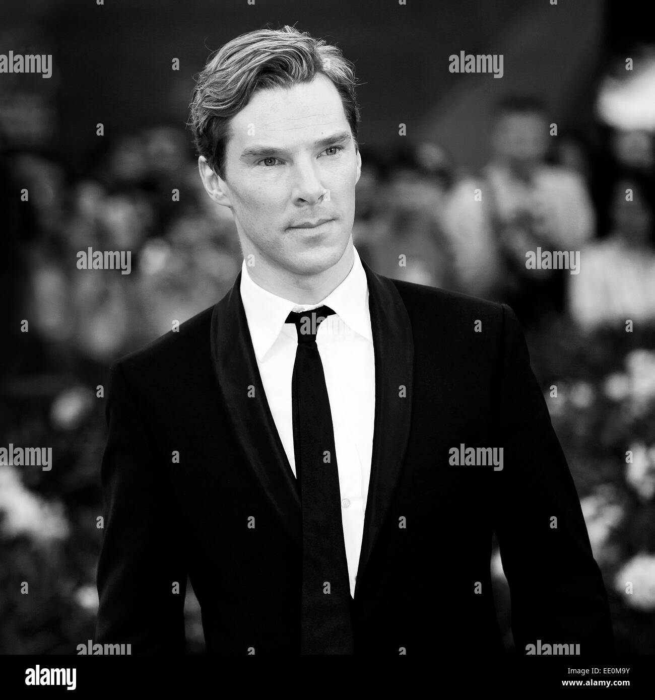 VENICE, ITALY - SEPTEMBER 05: Actor Benedict Cumberbatch attends the 'Tinker, Tailor, Soldier, Spy' premiere - Stock Image