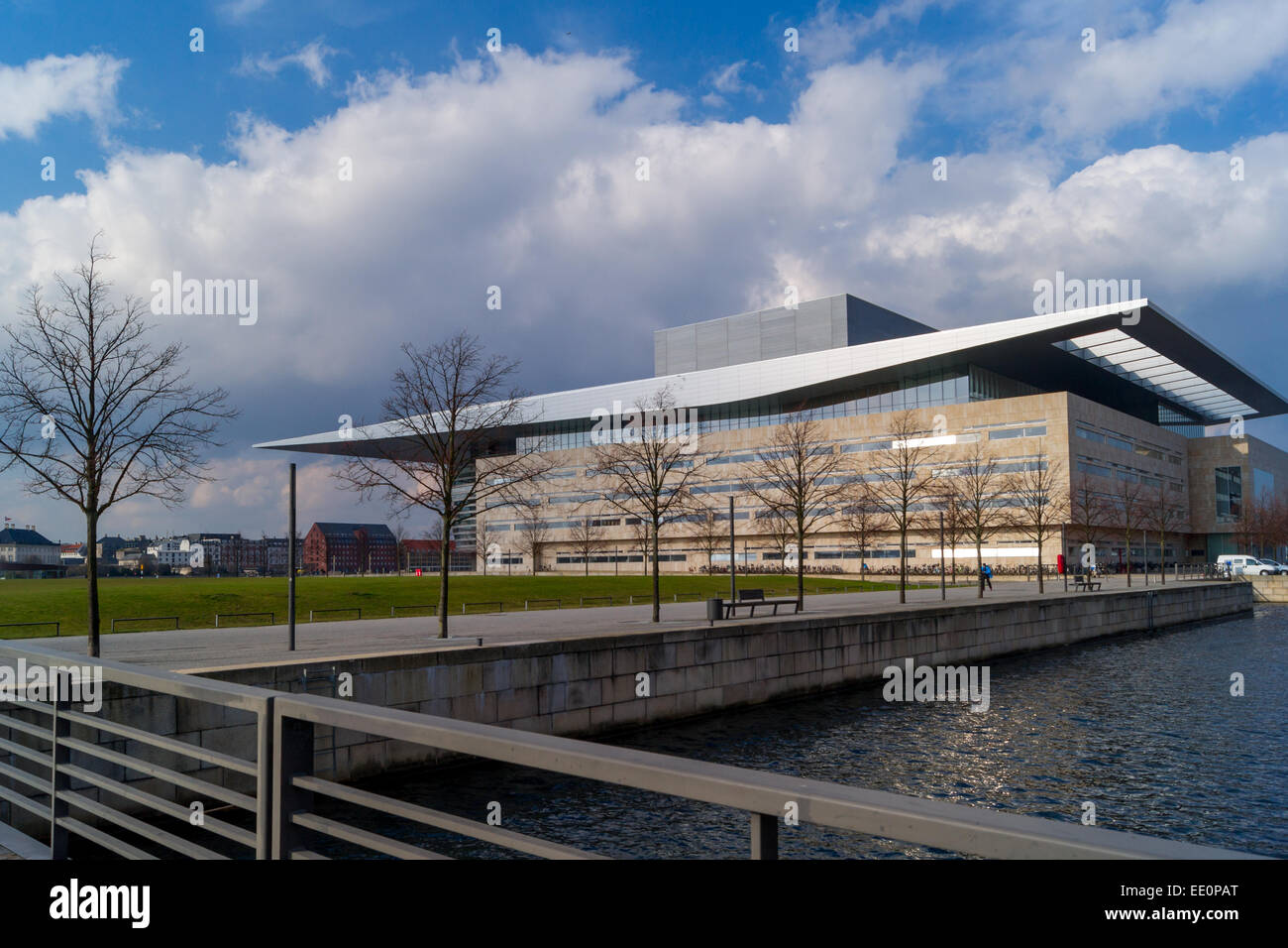 The Copenhagen Opera House designed by Henning Larsen. Copenhagen, Denmark Stock Photo