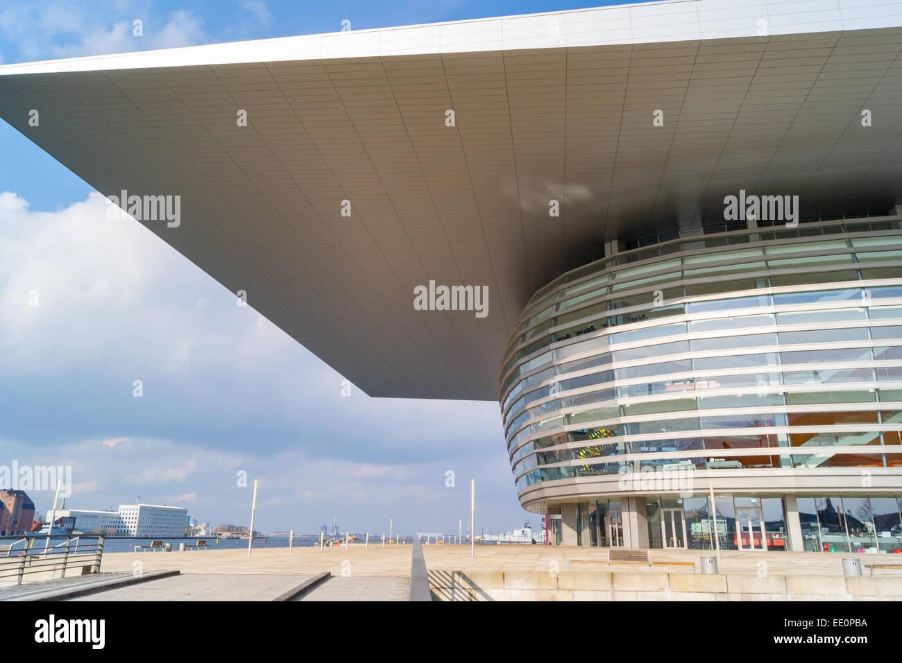 The Copenhagen Opera House designed by Henning Larsen. Copenhagen, Denmark Stock Photo