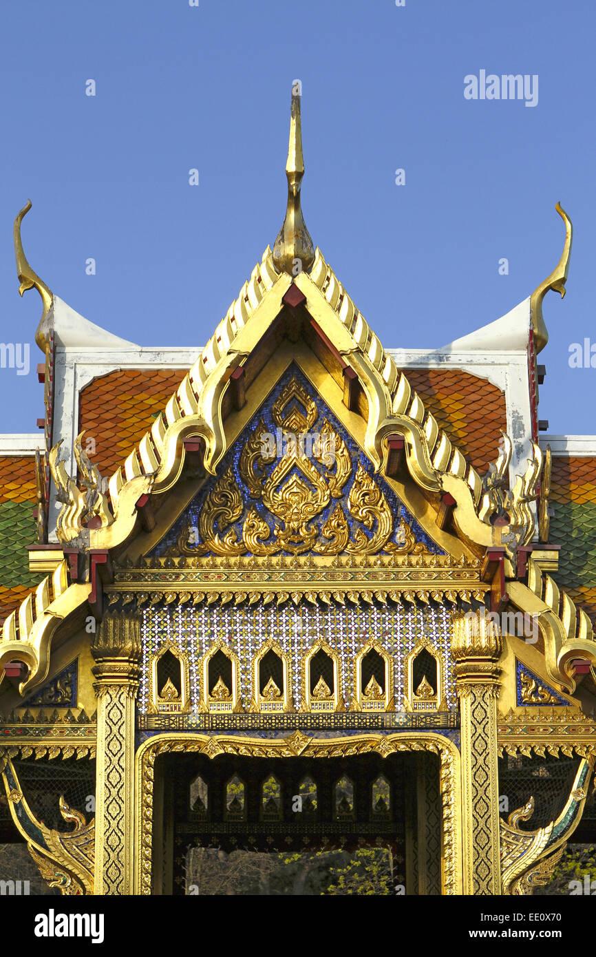 BRD, Deutschland, Bayern, Oberbayern, Muenchen, Thailaendischer Tempel im Westpark - Stock Image