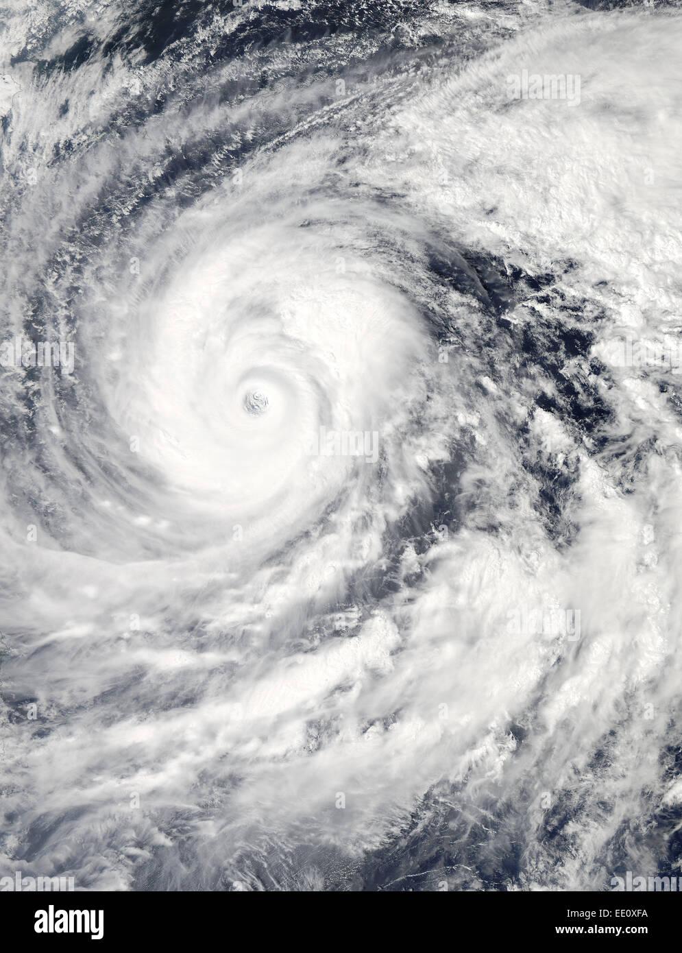 Super Typhoon Vongfong, Philippine Sea, Oct. 9, 2014 - Stock Image