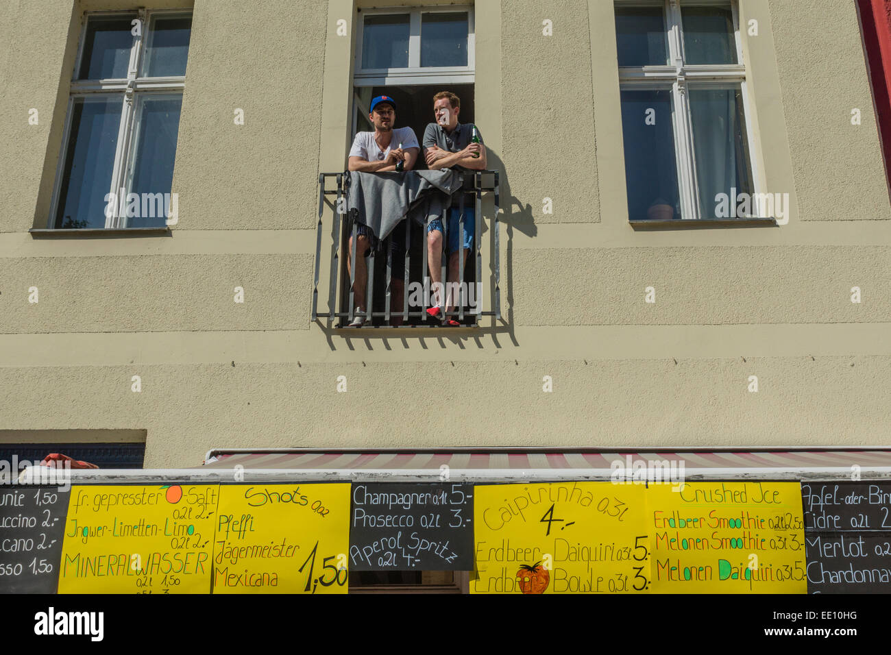 Annual street parade 'Carnival of Cultures' through Kreuzberg, Berlin, Germany - Stock Image