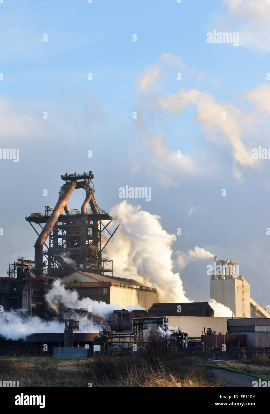 Redcar Steelworks, Redcar, Cleveland. UK - Stock Image